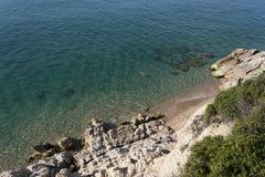 Spiaggia selvaggia Immagine Stock Libera da Diritti
