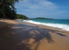 Spiaggia selvaggia a Phuket Fotografia Stock Libera da Diritti