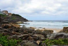 Spiaggia selvaggia vicino a Sydney Australia Immagini Stock
