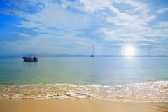 Spiaggia serena Fotografia Stock Libera da Diritti