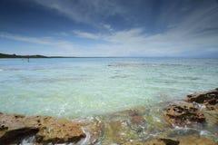 Spiaggia Shoalhaven Australia di Currarong Immagine Stock