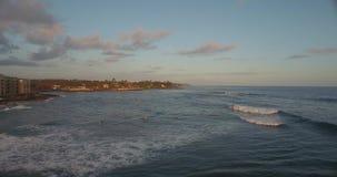 Spiaggia Shoreline delle Hawai archivi video