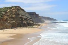 Spiaggia Sintra Portogallo di S. Julião Immagini Stock