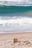 Spiaggia Smily Fotografie Stock