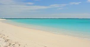 Spiaggia sola Fotografie Stock Libere da Diritti