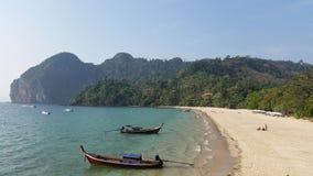 Spiaggia sola Immagine Stock