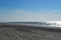 Spiaggia sola del golfo Fotografia Stock
