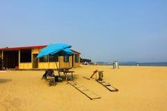 Spiaggia soleggiata Fotografia Stock