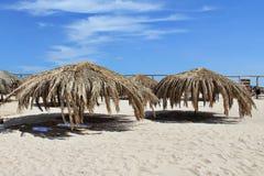 Spiaggia soleggiata Fotografia Stock Libera da Diritti