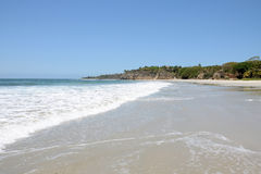 Spiaggia solitaria Fotografia Stock Libera da Diritti