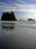 Spiaggia, sosta nazionale olimpica Fotografie Stock Libere da Diritti