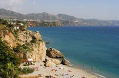 Spiaggia in Spagna Immagine Stock