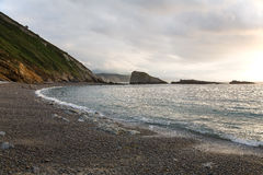 Spiaggia spagna del nord Fotografie Stock Libere da Diritti