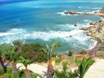 Spiaggia spumosa Immagine Stock Libera da Diritti