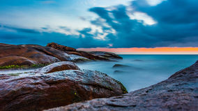 Spiaggia Sri Lanka di Yala Fotografie Stock