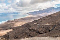 Spiaggia su Fuerteventura Fotografia Stock