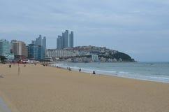 Spiaggia sudcoreana Immagini Stock