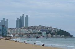 Spiaggia sudcoreana Fotografia Stock