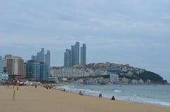 Spiaggia sudcoreana Immagine Stock Libera da Diritti