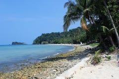 Spiaggia sull'isola di KOH Chang Immagine Stock