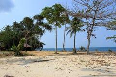 Spiaggia sull'isola di KOH Chang Fotografia Stock Libera da Diritti