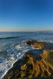 Spiaggia sull'oceano Fotografia Stock