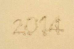 Spiaggia sulla sabbia Immagine Stock Libera da Diritti