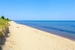 Spiaggia superiore della penisola Fotografia Stock
