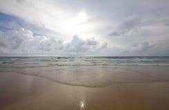 Spiaggia in Tailandia Immagine Stock