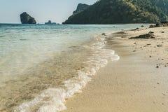 Spiaggia in Tailandia Fotografie Stock