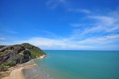 Spiaggia Tailandia del hin di Hua fotografia stock