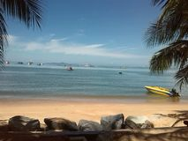 Spiaggia Tailandia di Saray di colpo Immagine Stock