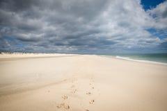 Spiaggia Tavira Portogallo di Barril Fotografia Stock Libera da Diritti