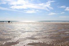 Spiaggia in Tenby Fotografie Stock Libere da Diritti