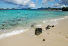 Spiaggia Thomas santo dello zaffiro immagini stock