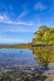 1$ spiaggia Timor Est Immagini Stock Libere da Diritti