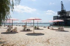 Spiaggia Toronto, Canada di Suger Fotografia Stock