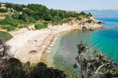 Spiaggia Tracia Fotografie Stock Libere da Diritti