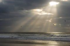 Spiaggia tranquilla immagini stock libere da diritti