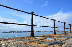 Spiaggia a Trapani, Sicilly fotografie stock