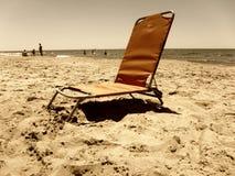 Spiaggia triste Fotografia Stock Libera da Diritti