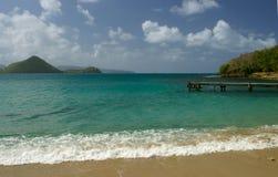 Spiaggia tropicale Immagine Stock