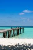 Spiaggia tropicale Stock Afbeeldingen