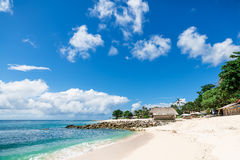 Spiaggia tropicale in Bali Fotografia Stock Libera da Diritti