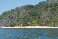 Spiaggia tropicale dell'isola fotografia stock