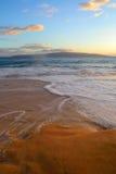 Spiaggia tropicale delle Hawai Fotografia Stock Libera da Diritti