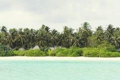 Spiaggia tropicale di paradiso dell'isola Fotografia Stock