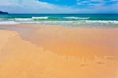 Spiaggia tropicale esotica Fotografia Stock