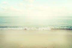 Spiaggia tropicale in estate Immagine Stock Libera da Diritti