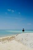 Spiaggia tropicale K Huraa - Malduves Fotografia Stock Libera da Diritti